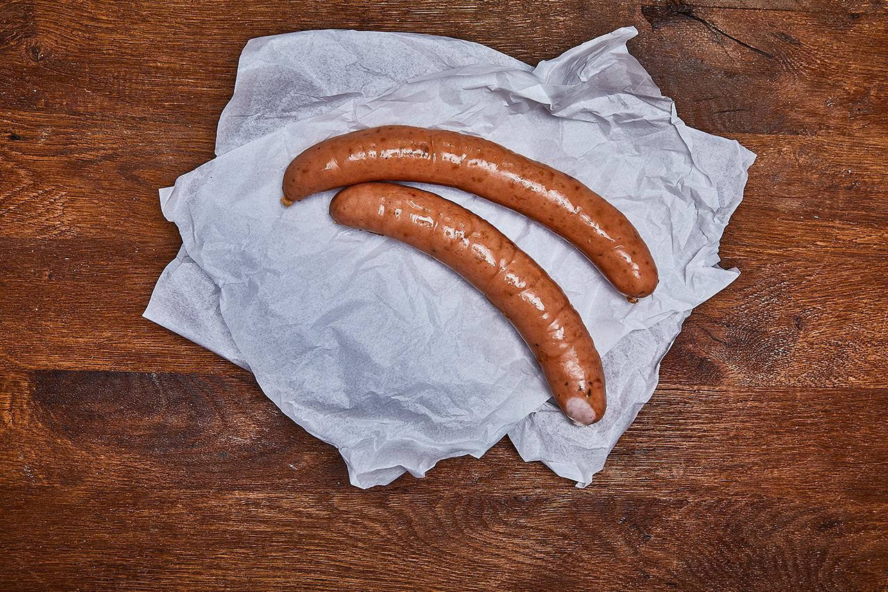 Krakauer Bockwurst vom Bentheimer Schwein